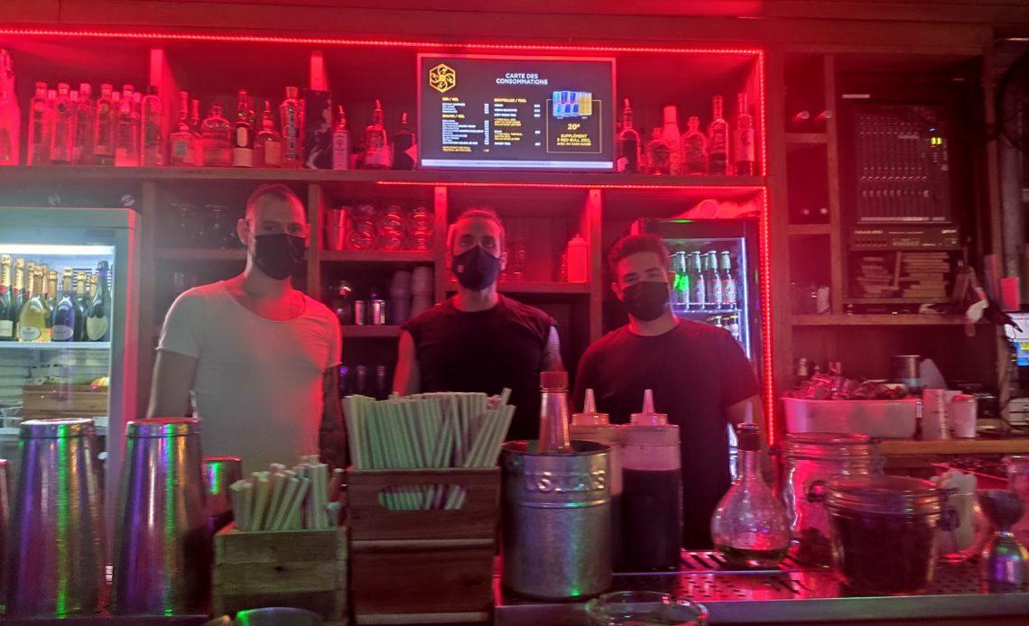 Vincent Lussot, Quentin Dulac et Olivier Soliveres - The 7Th Heaven - Bar de nuit cocktails rooftop - Fréjus