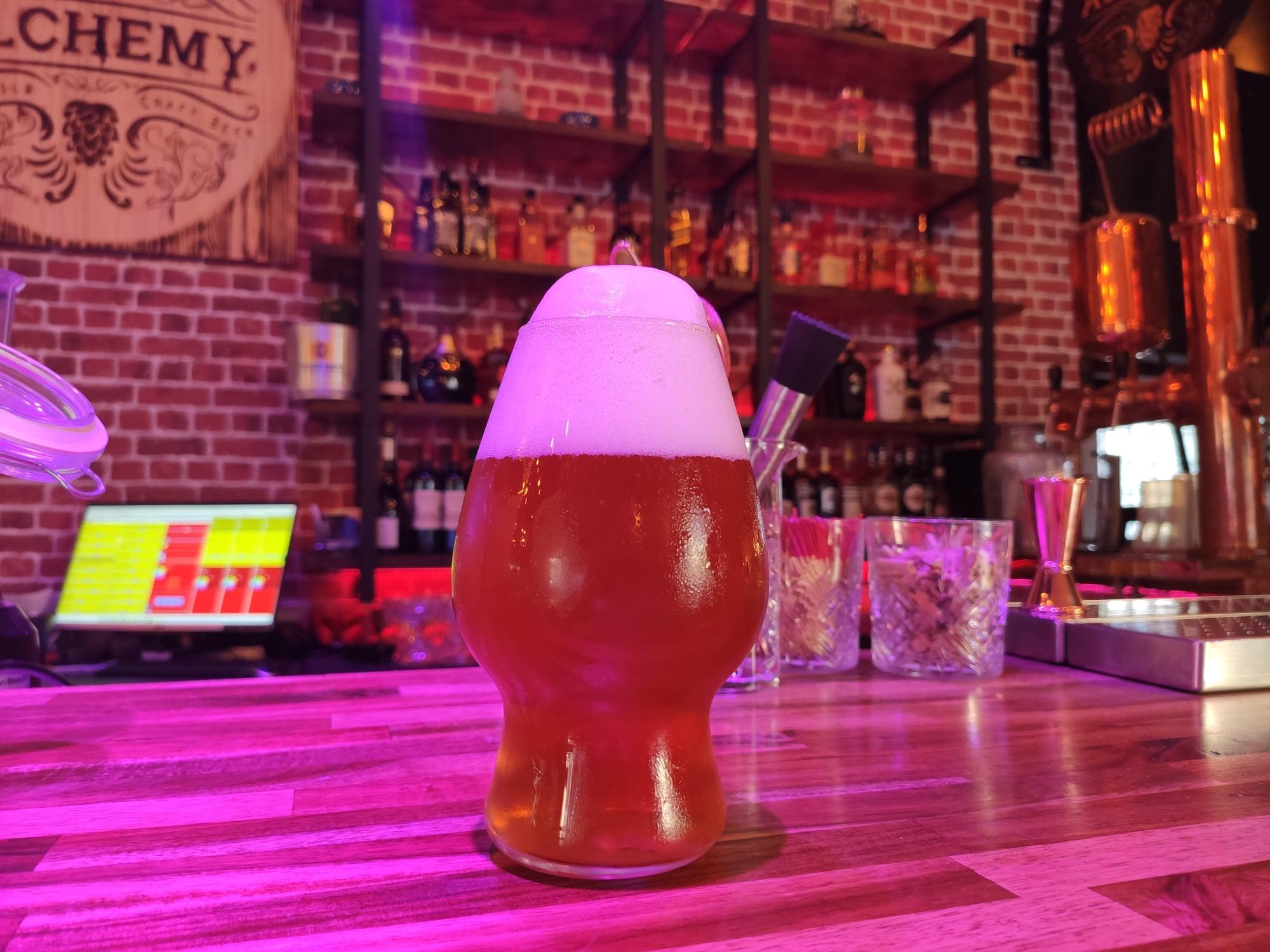 Bière Pale Ale - The Alchemy - Bar à Saint-Raphaël