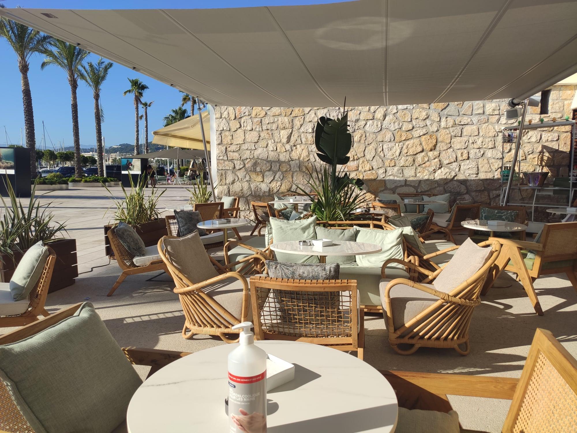 Terrasse - Harry's Bar Cannes