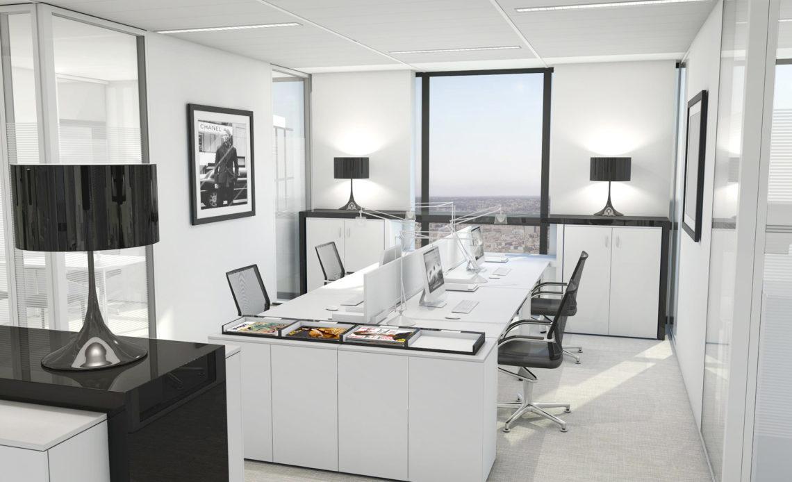 Bureaux de Chanel par l'agence Idoine