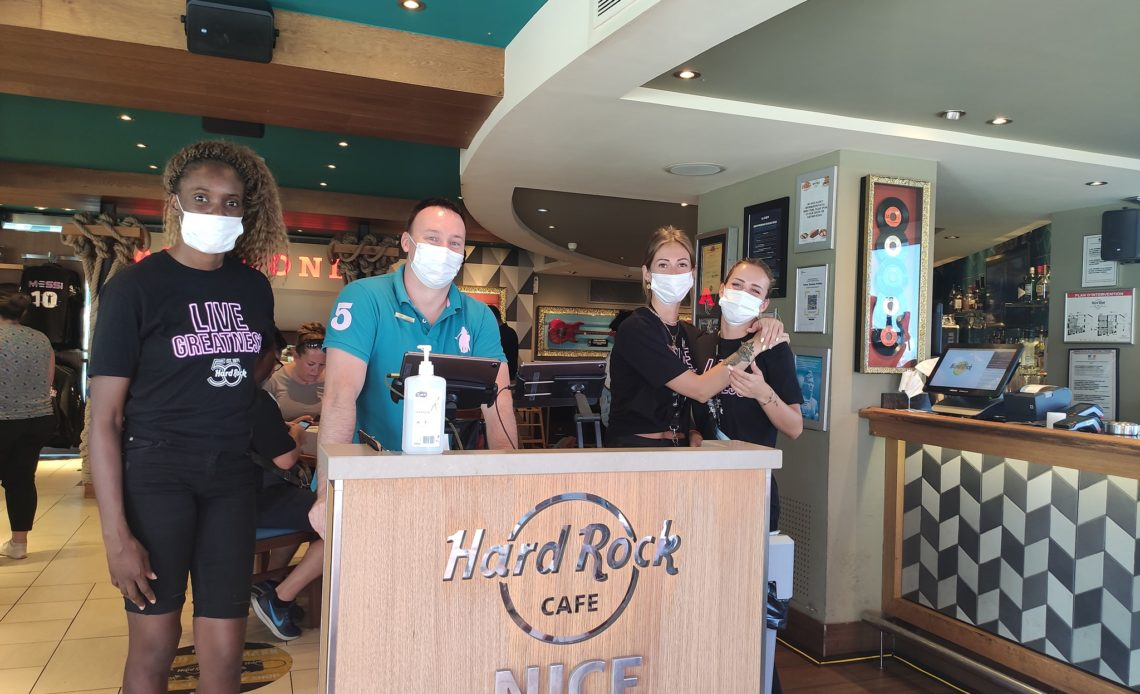Hard Rock Cafe Nice - Equipe du restaurant