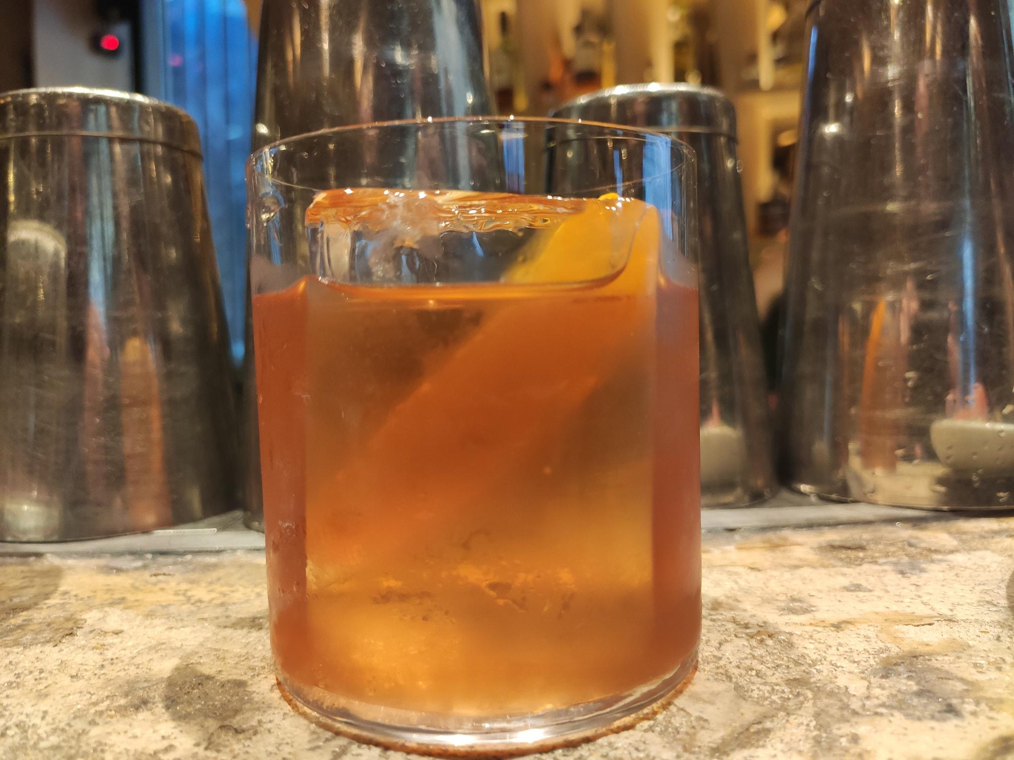Ce cocktail préfigure celui qui sera servi à la pression au Gravity Bar.