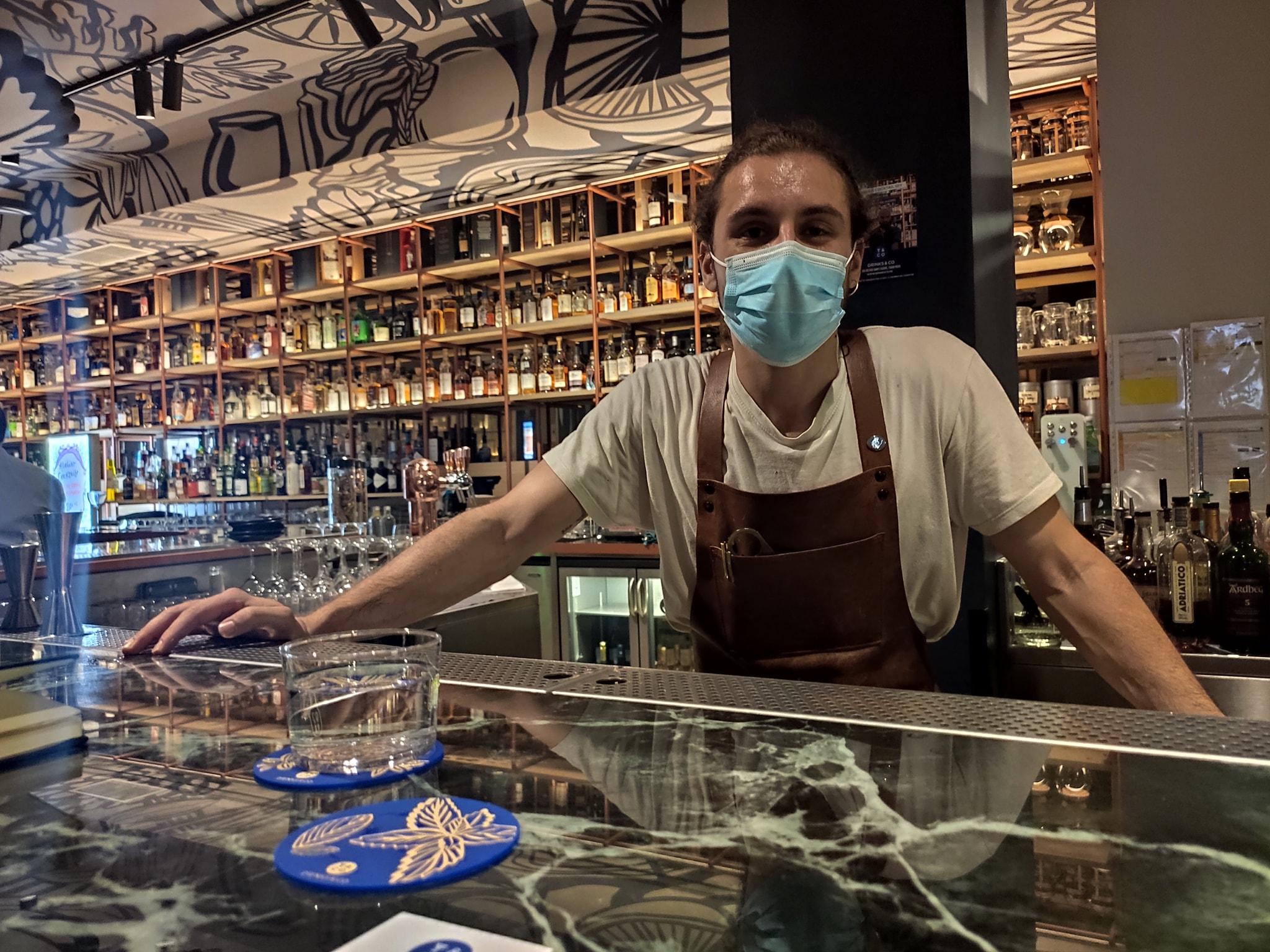 Maxime Brisville - Senior bartender - Drinks & Co