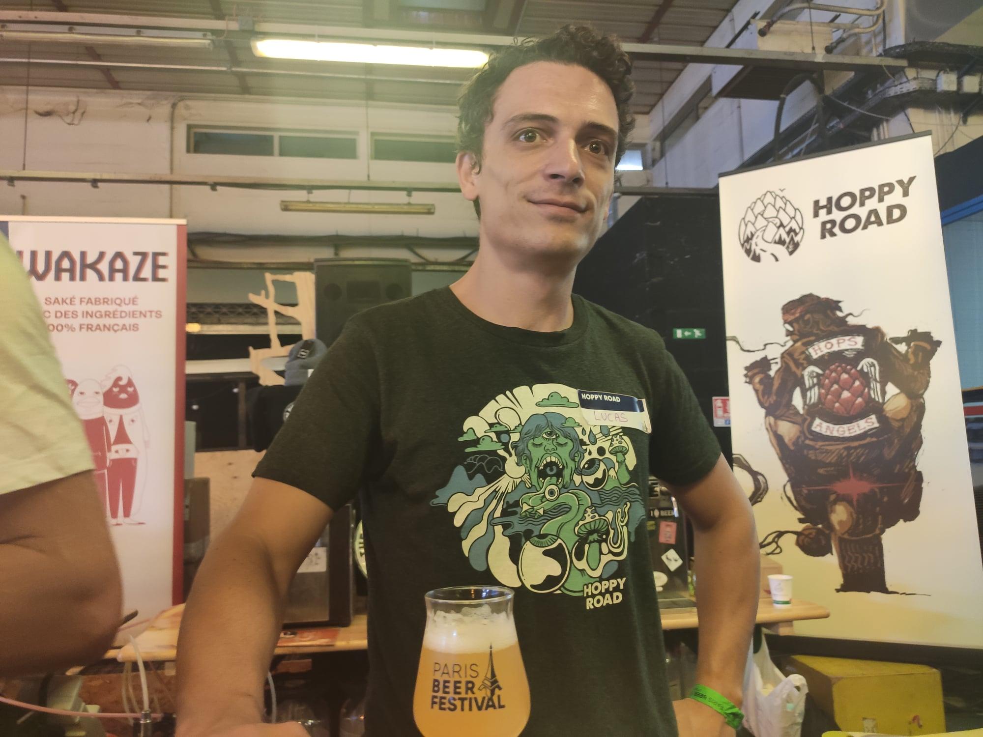 Paris Beer Festival - Lucas del Biondo - Hoppy Road