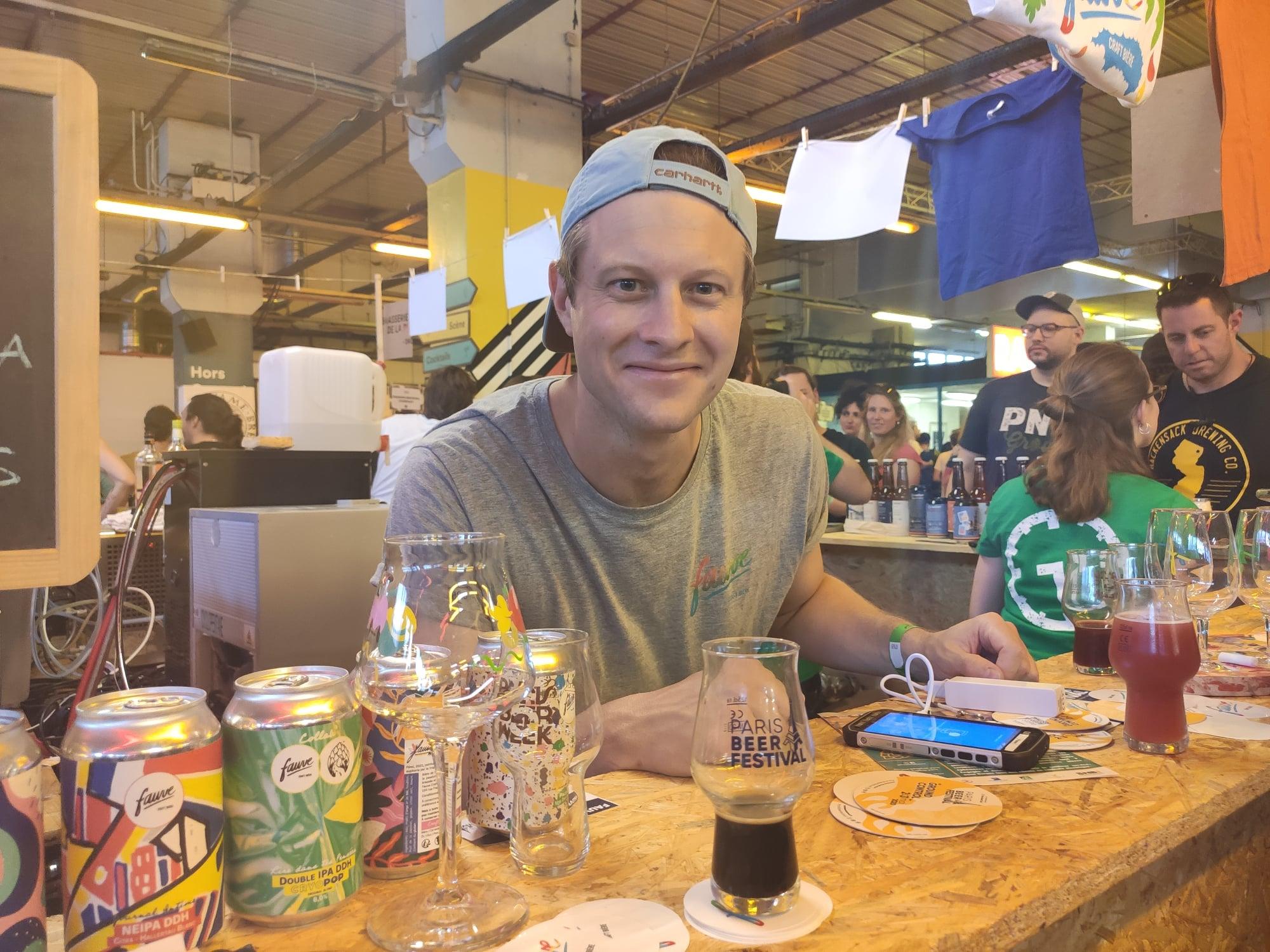 Paris Beer Festival - Antoine Robic (Fauve Craft bière)