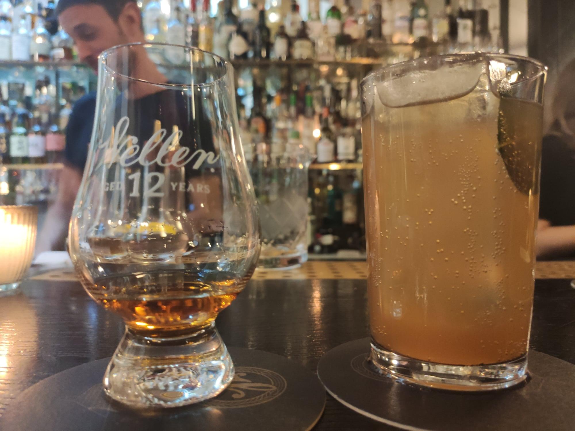 Cocktail Peach, Pleaseeee - Danico (whisky Weller)