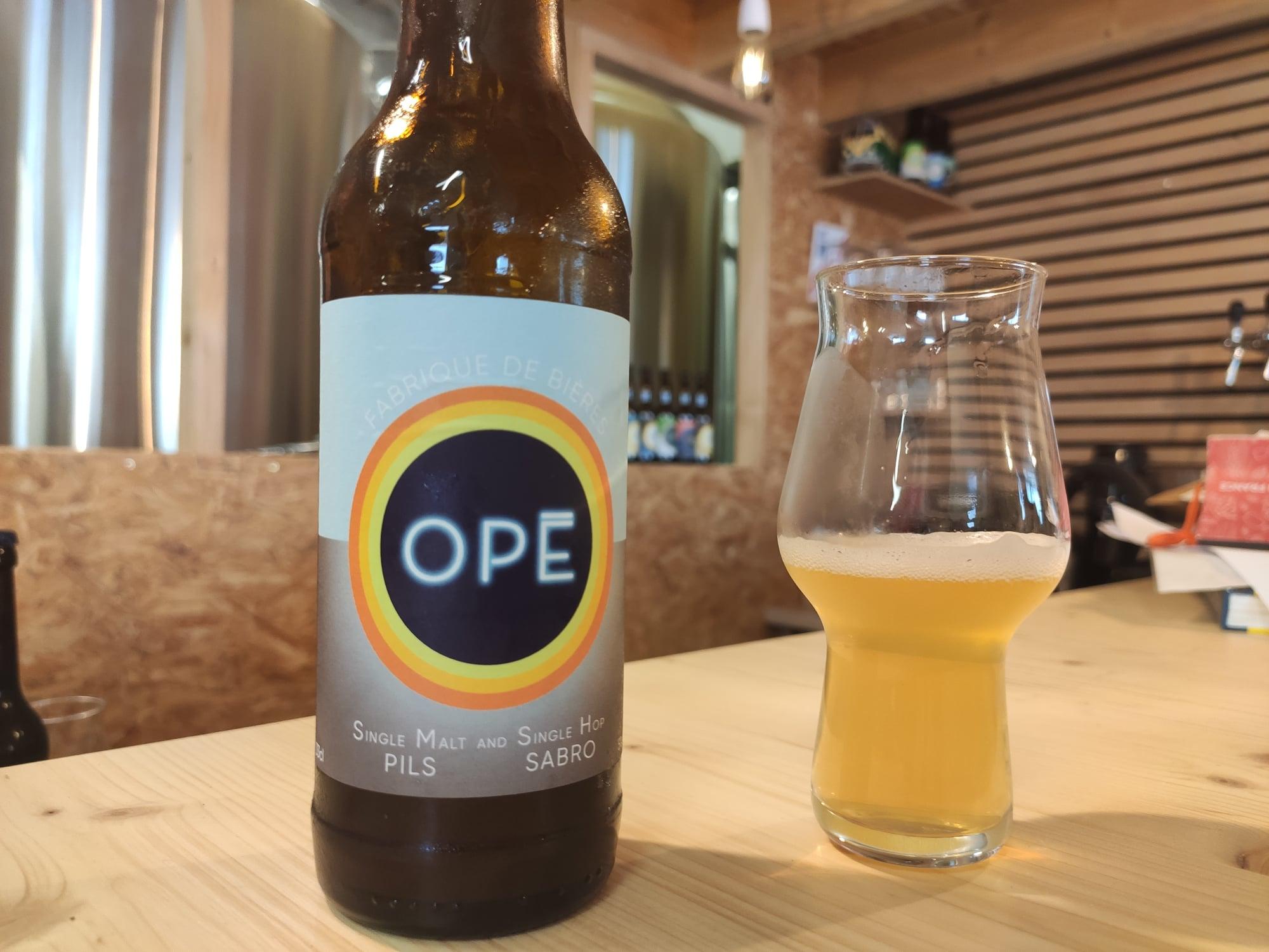 Brasserie Opé - Bière Smash